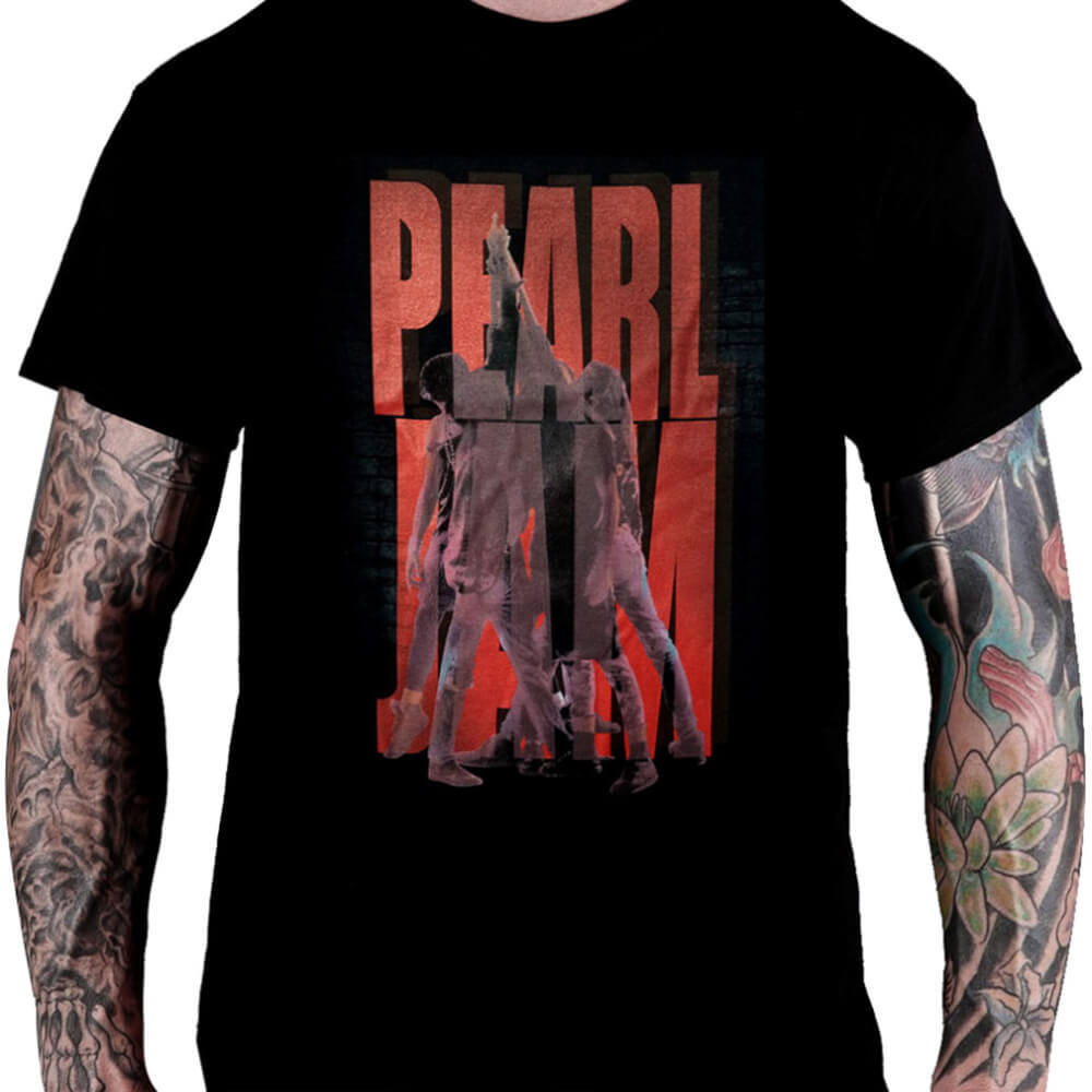 CamisetaPEARL JAM – Ten