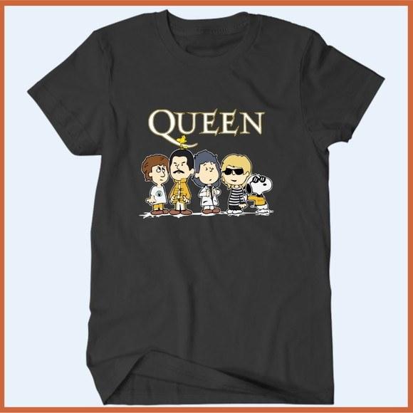 Camiseta Queen Snoopy - Camisetas Rápido