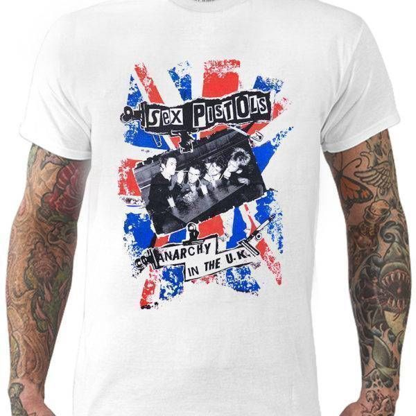 Camiseta Sex Pistols – Anarchy in the U.K.