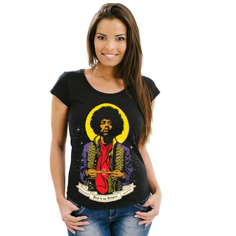Camiseta St. Jimi Hendrix Feminina