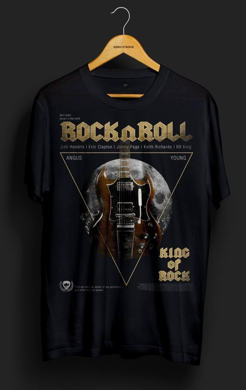 Camiseta Rock n Roll – King of Rock