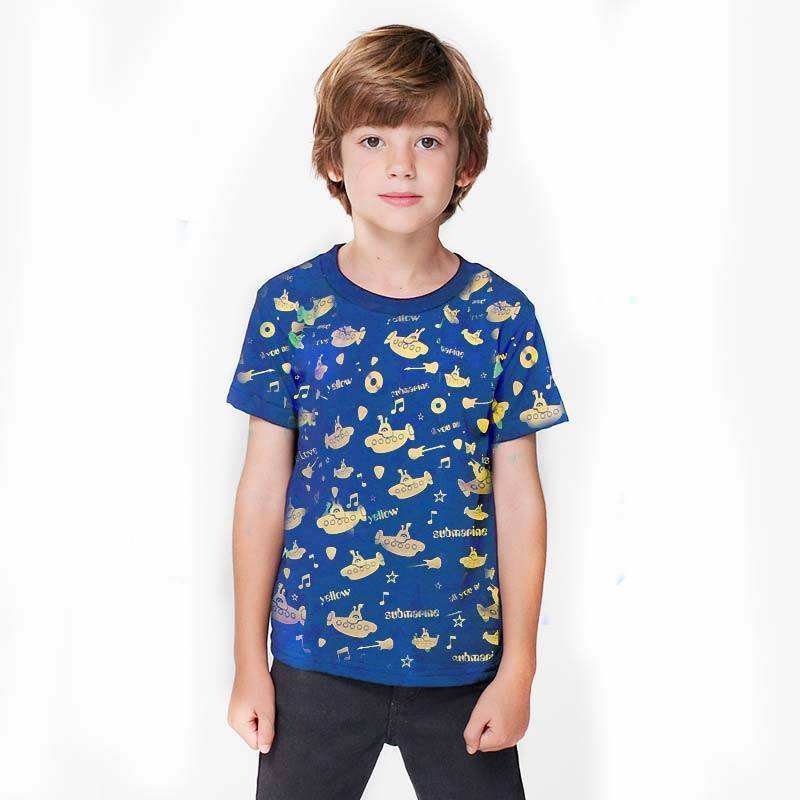 Camiseta Yellow Submarine – Camisetas Roquenrou