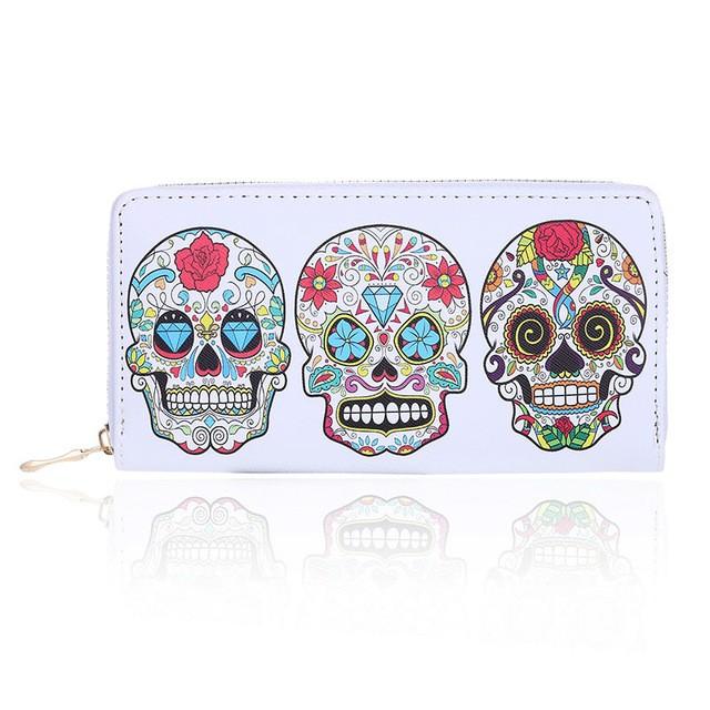 Carteira Skull Mexicana