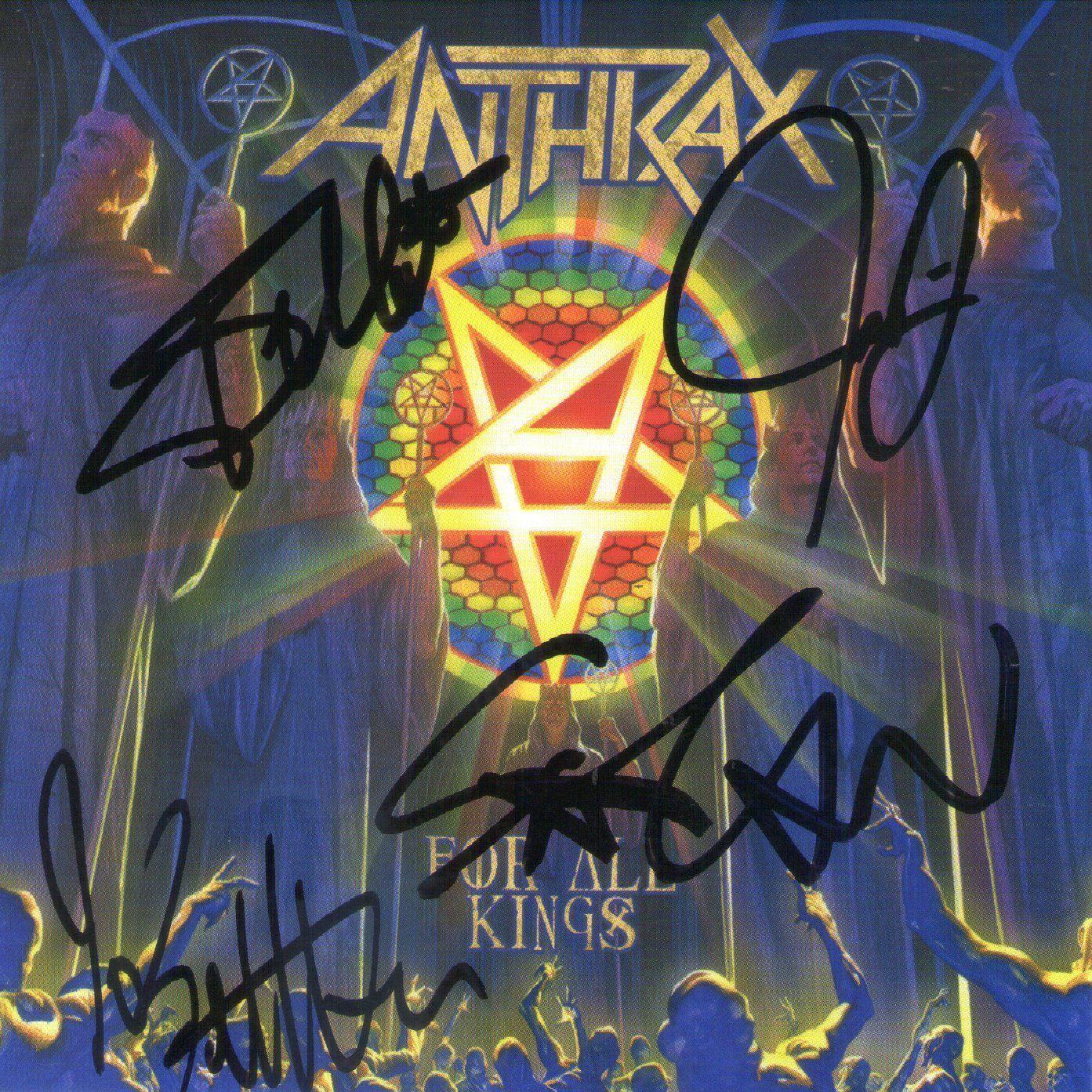 CD – Anthrax – For All Kings – Duplo – Autografado