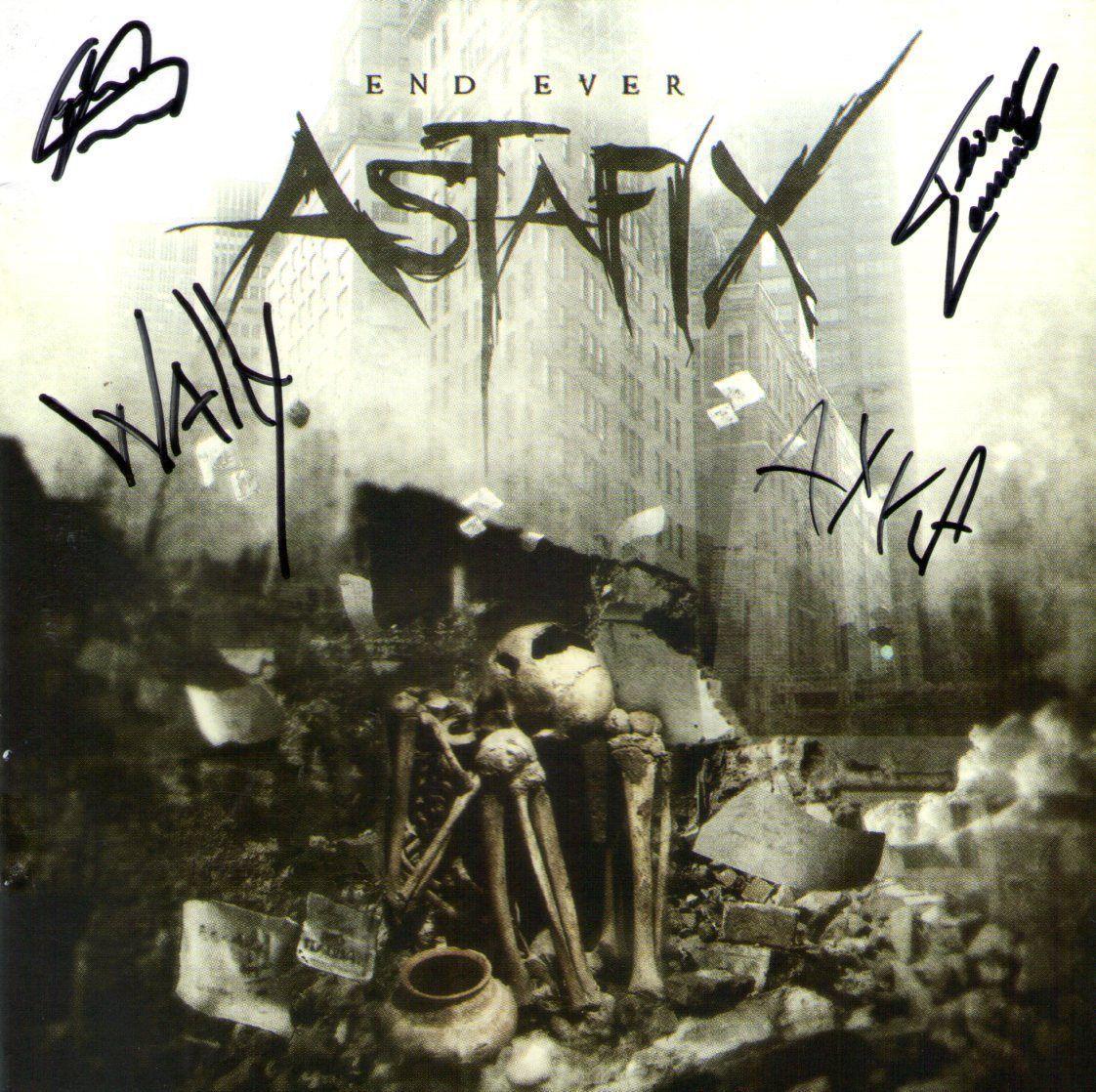 CD – Astafix – End Ever – Autografado