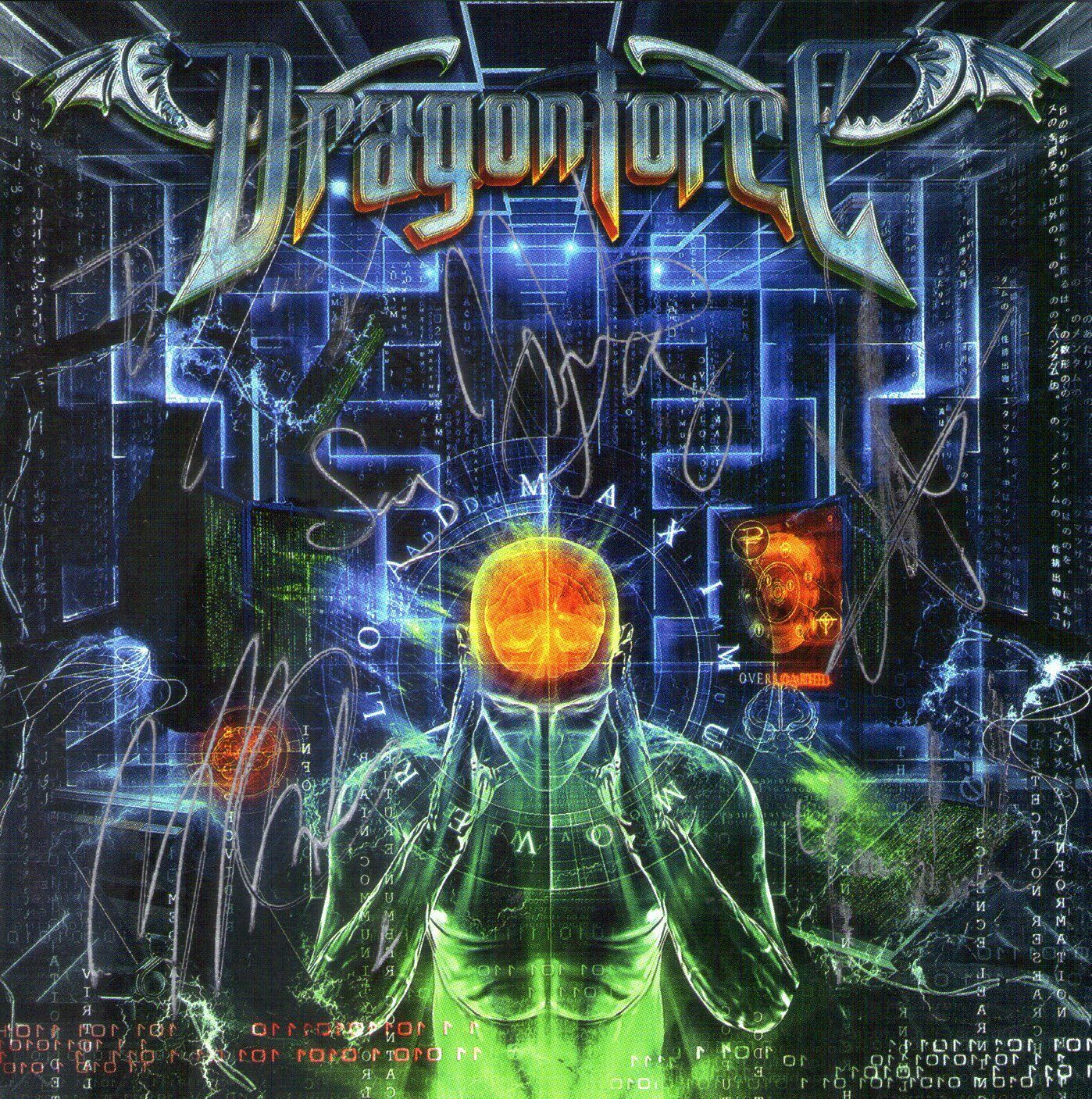 CD – Dragonforce – Maximum Overload – Autografado