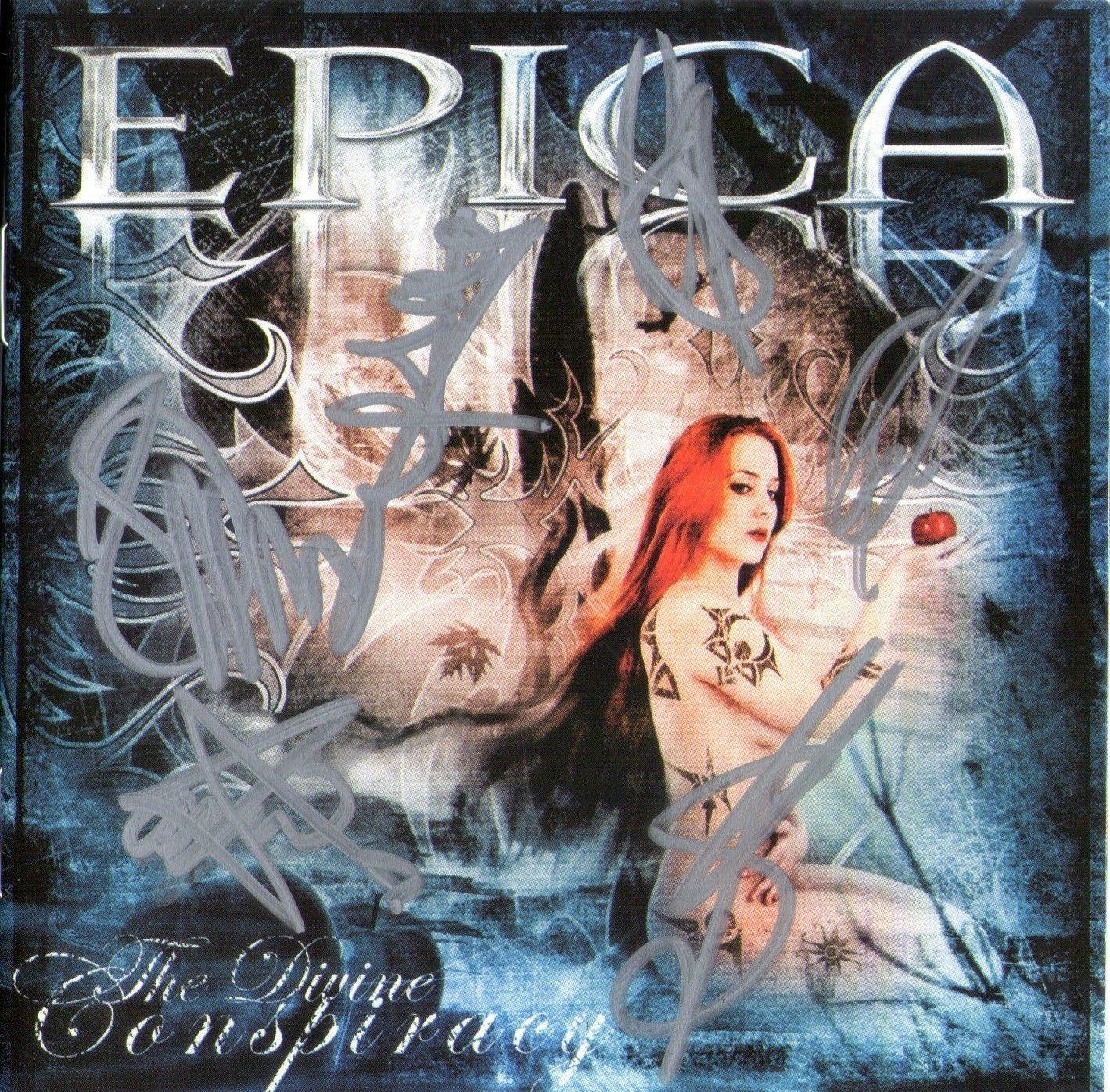 CD - Epica - The Divine Conspiracy - Autografado
