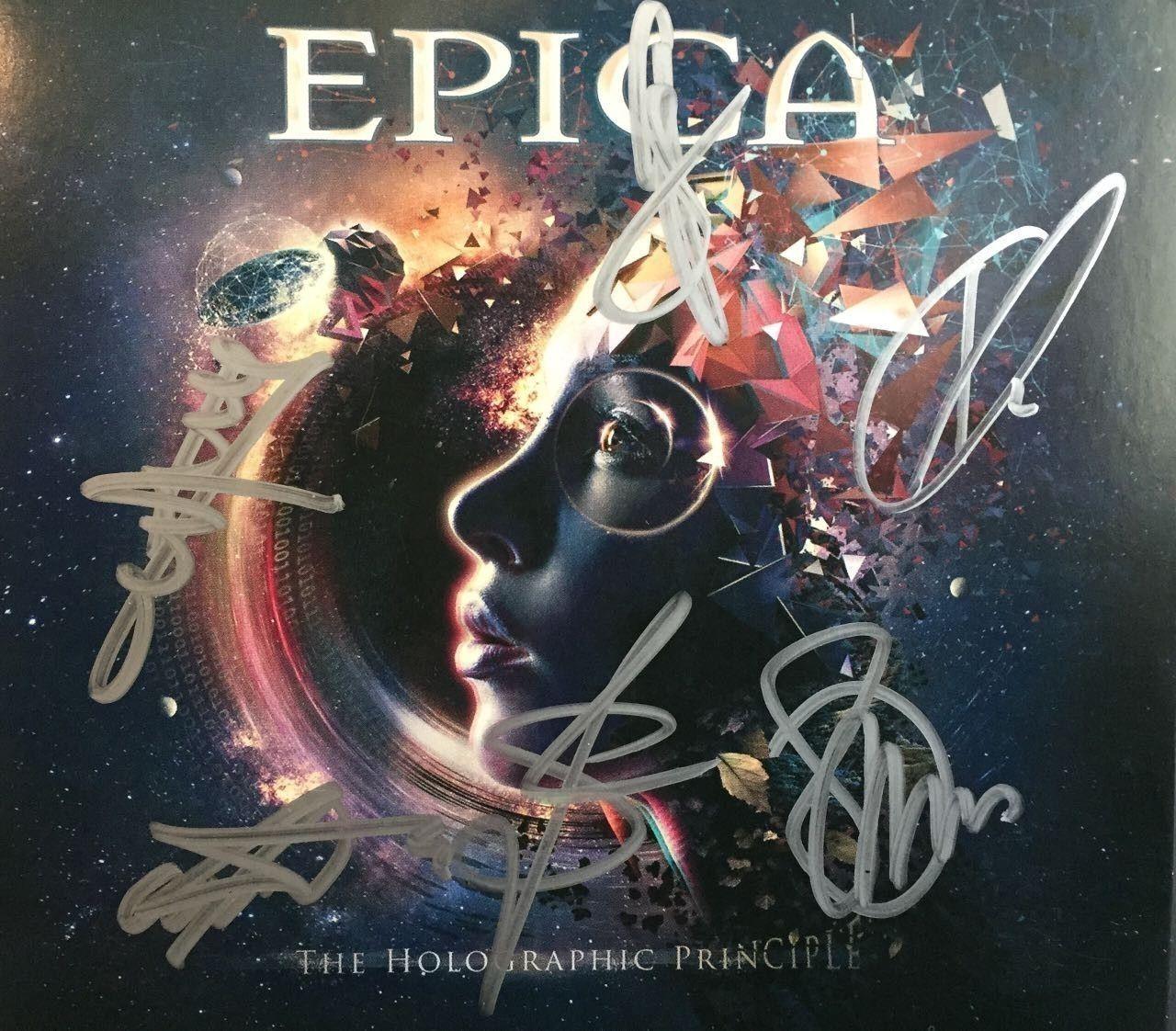 CD - Epica - The Holographic Principle - DUPLO - Autografado