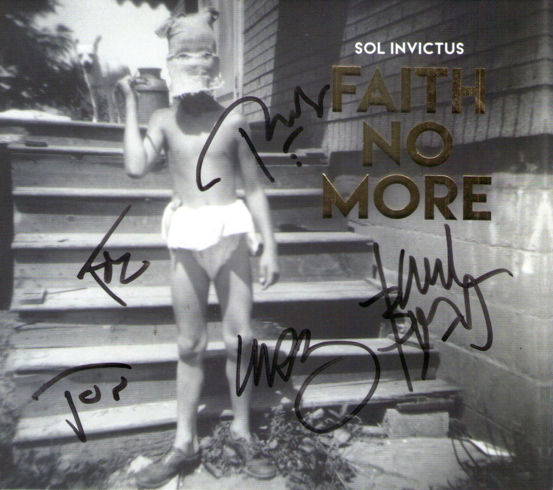CD – Faith No More – Sol Invictus – Autografado