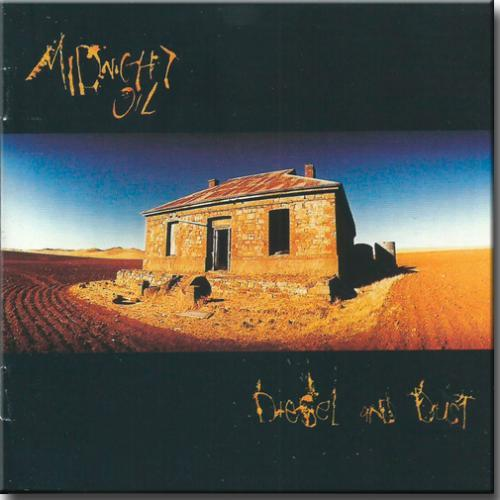Cd Midnight Oil - Diesel And Dust