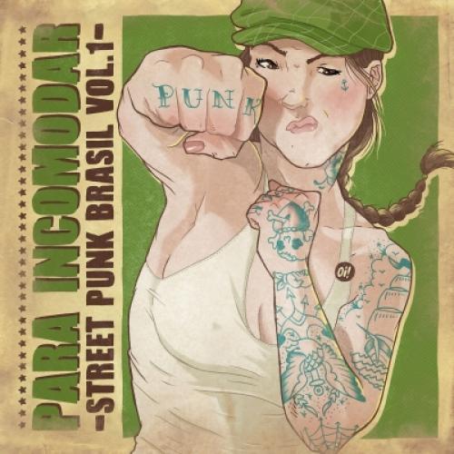 Cd Para Incomodar - Street Punk Brasil Vol 1 - Diversos Nacionais