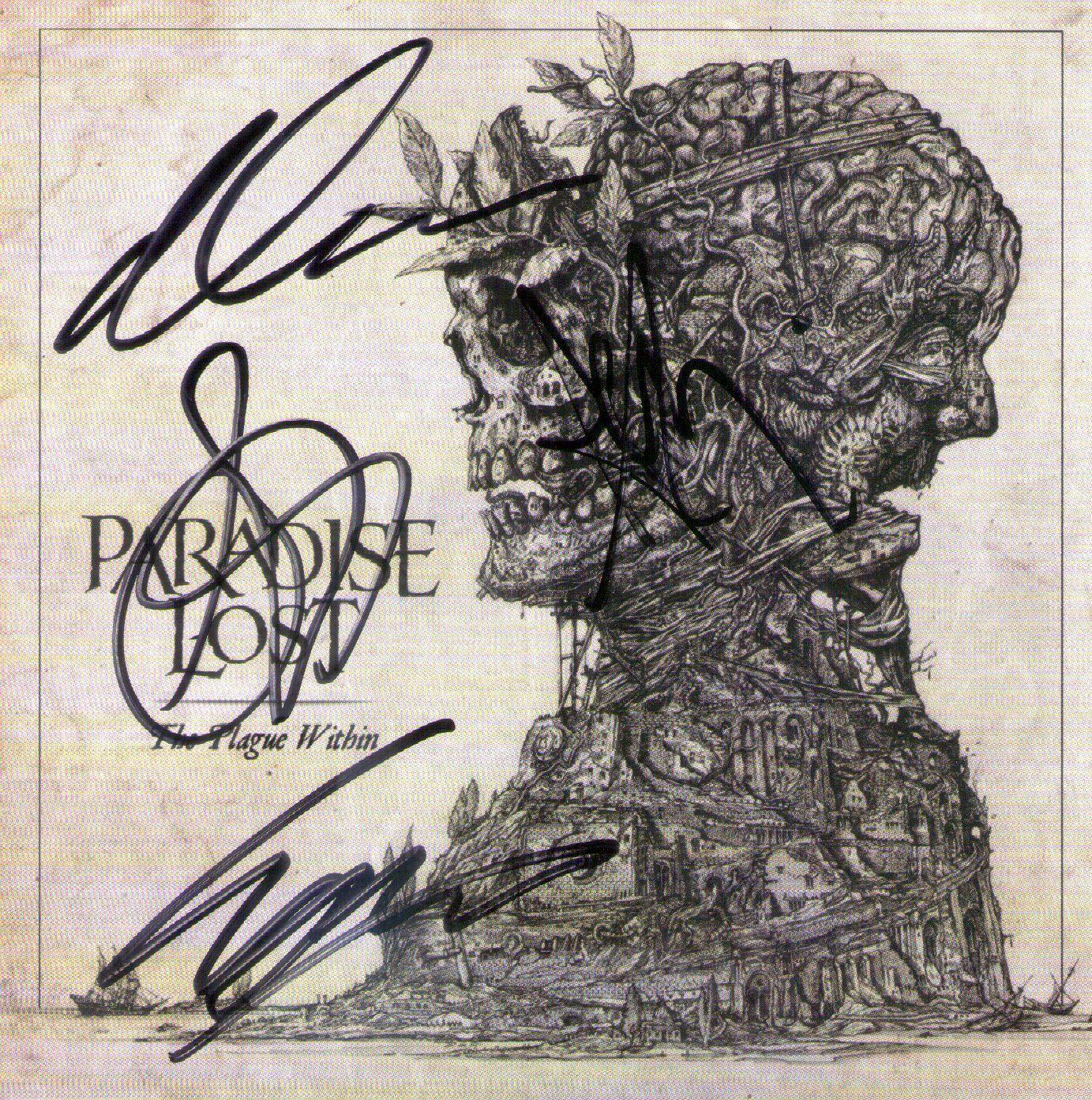 CD – Paradise Lost – The Plague Within – Autografado