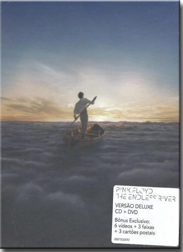 Cd Pink Floyd - The Endless River Versão de Luxe - (box cd + Dvd)