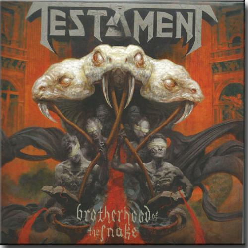 Cd Testament - Brotherhood of The Snake