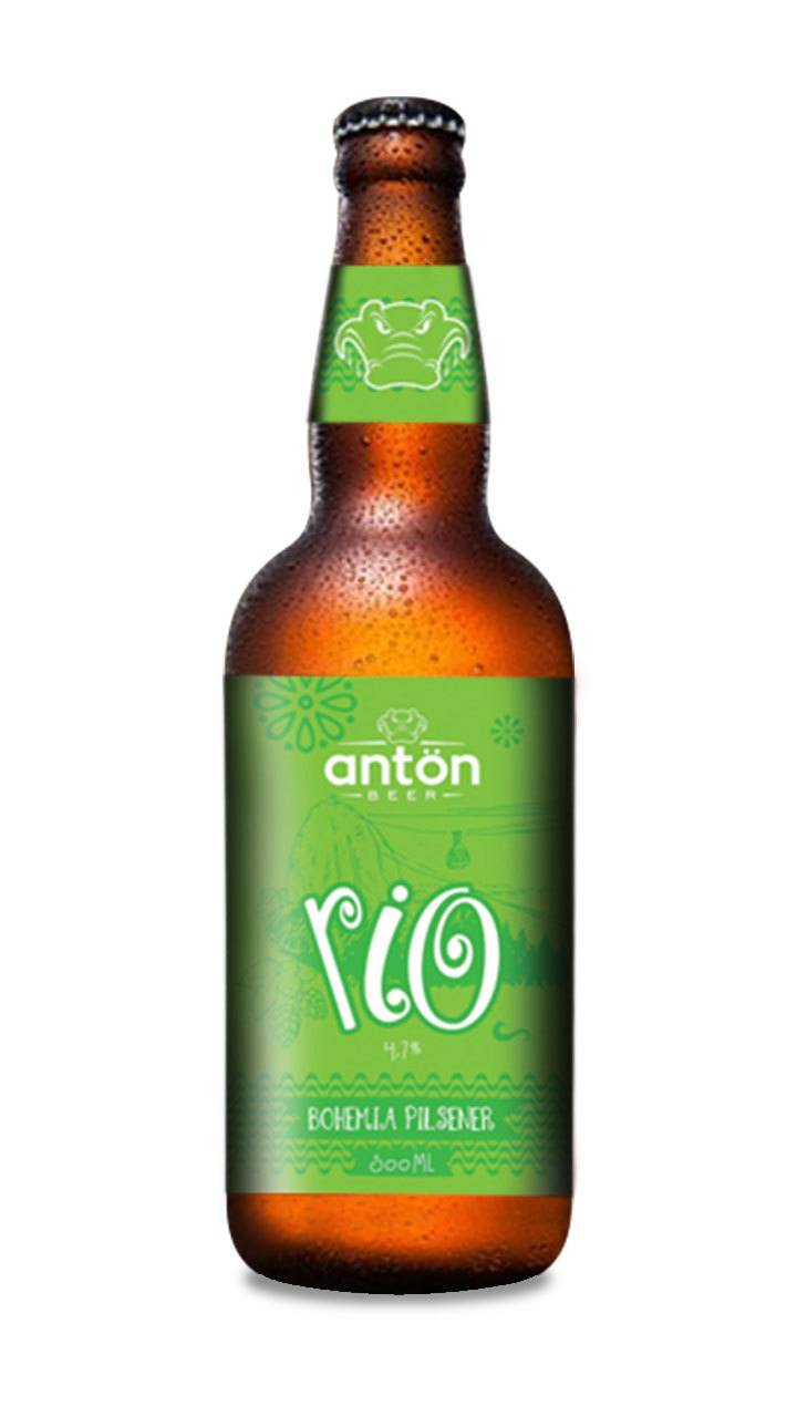 Cerveja Antön Beer Rio Bohemia Pilsener 500ml