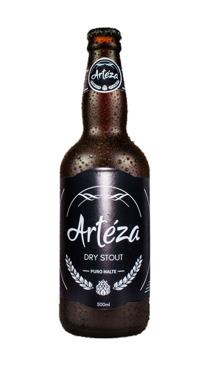 Cerveja Artéza Dry Stout 500ml