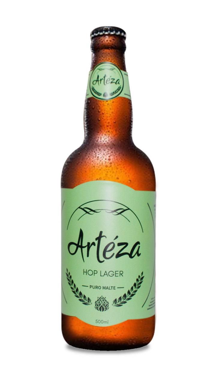 Cerveja Artéza Hop Lager 500ml