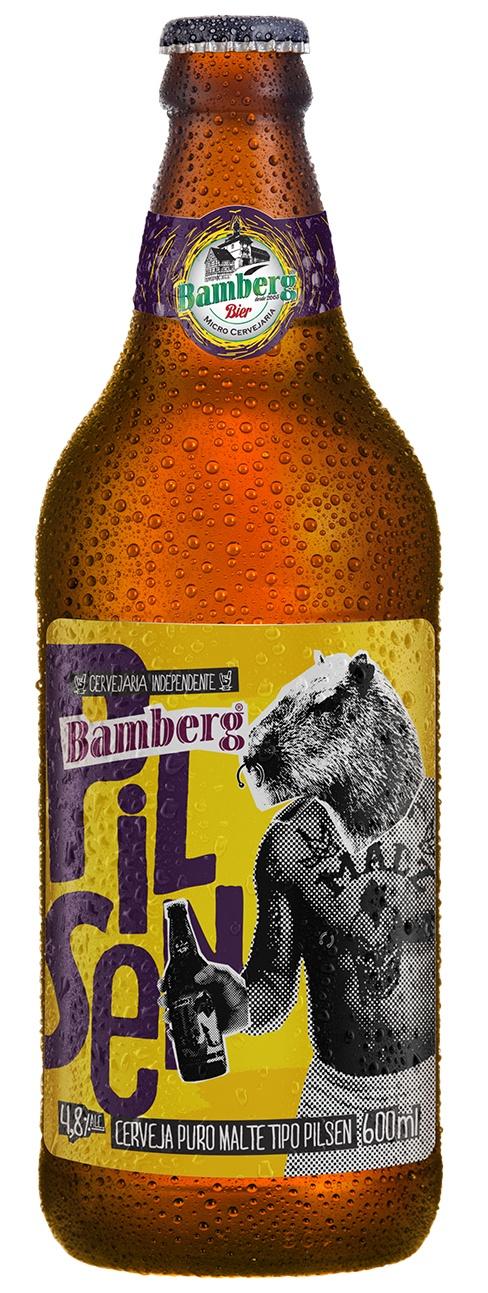 Cerveja Bamberg Pilsen 600 ml