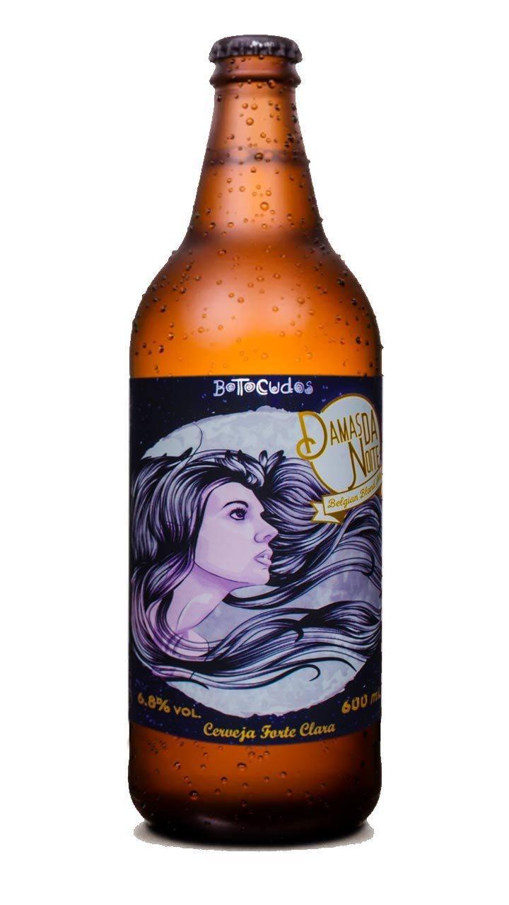 Cerveja Botocudos Damas da Noite Belgian Blond Ale 600ml
