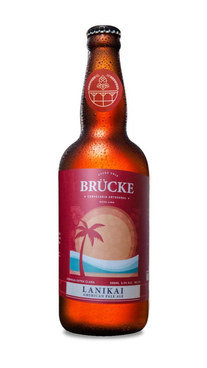 Cerveja Brücke Lanikai American Pale Ale 500ml