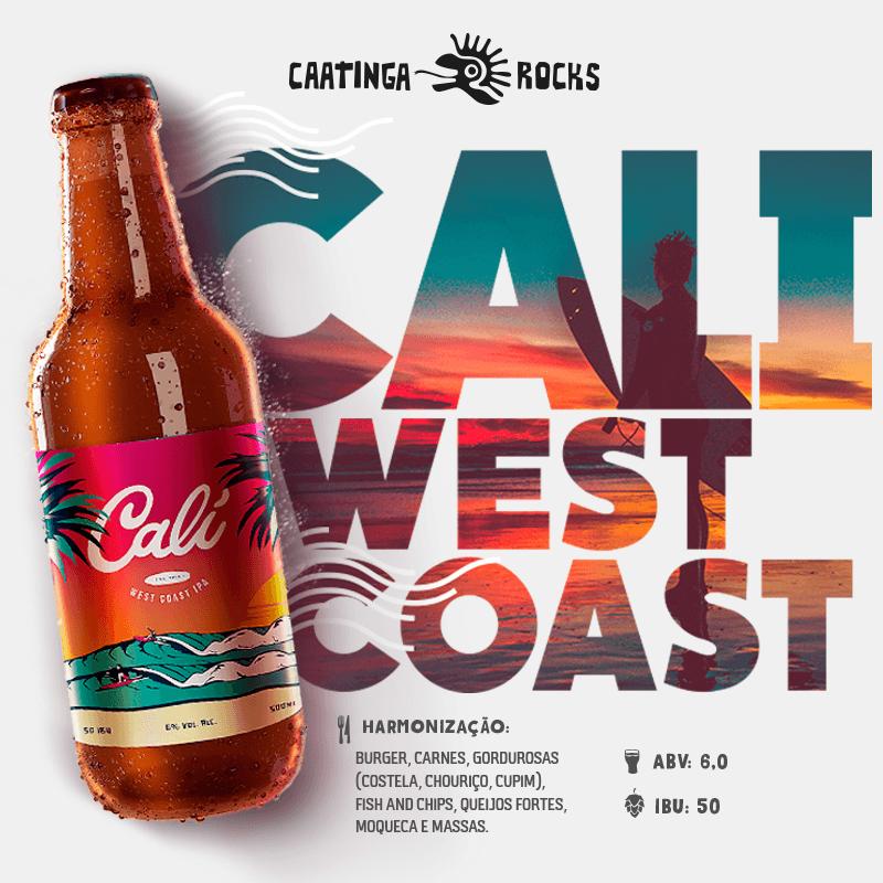Cerveja Caatinga Rocks Cali 500ml