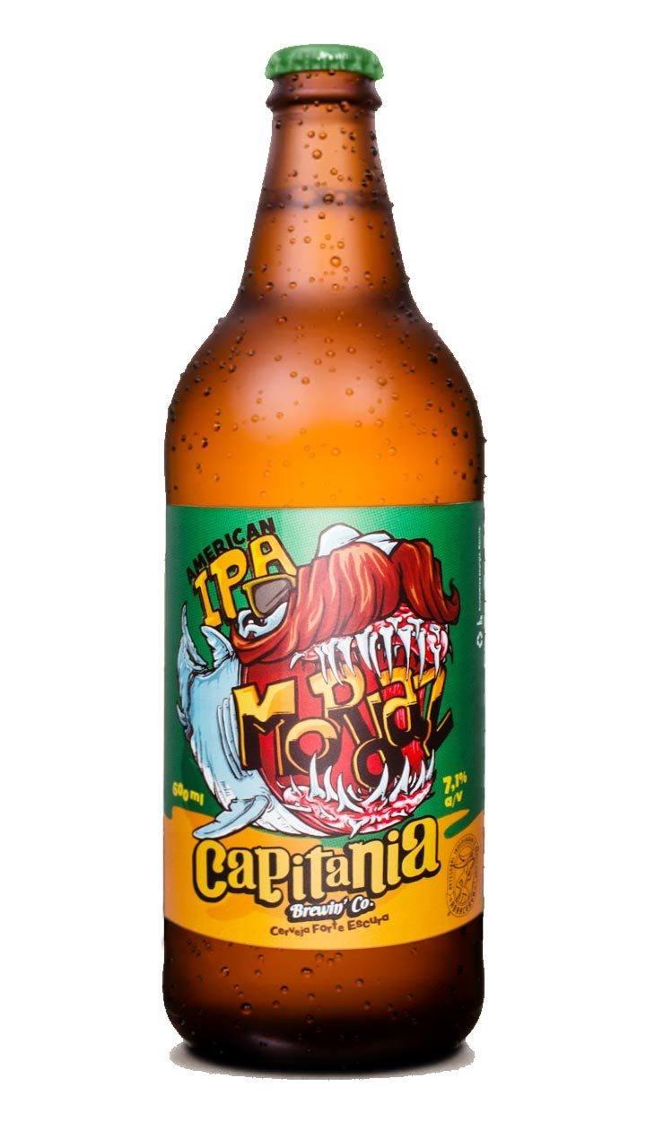 Cerveja Capitania Mordaz American IPA 600ml