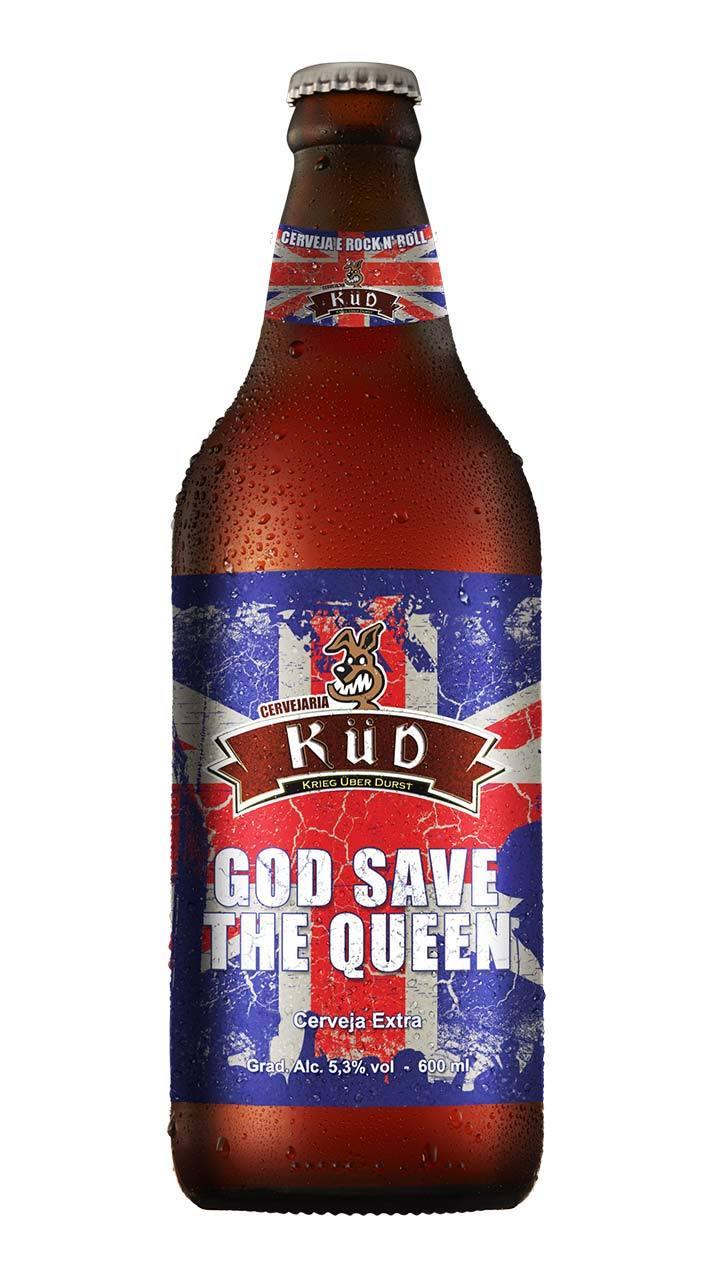 Cerveja Küd God Save the Queen Pale Ale 600ml
