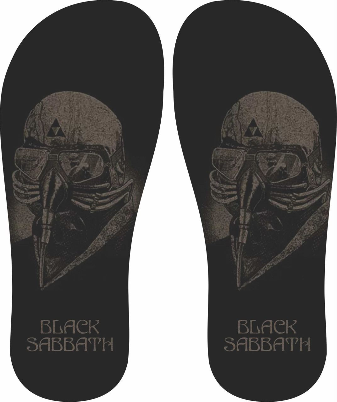 Chinelo Black Sabbath - Asterion Chinelos Personalizados