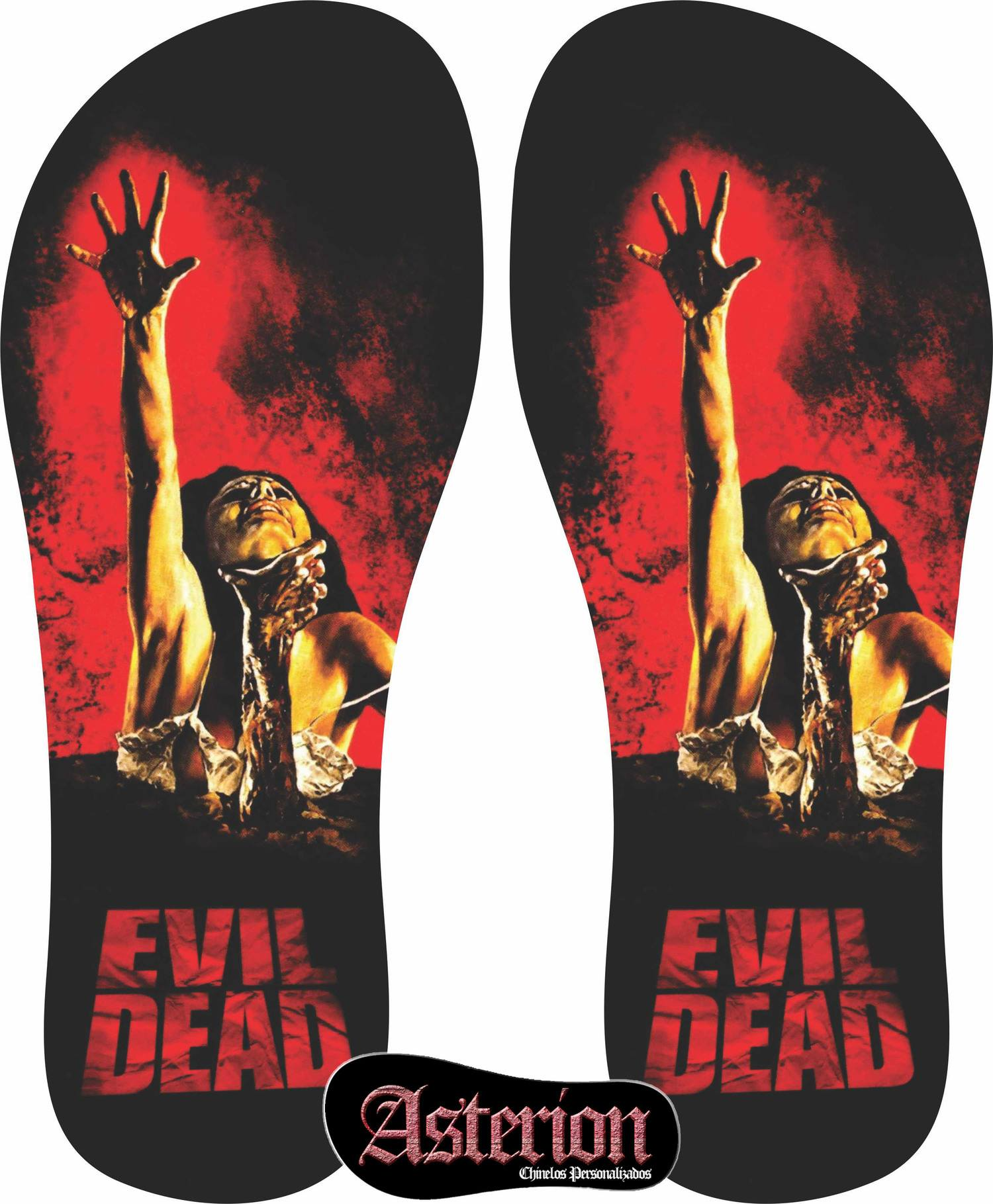 Chinelo Evil Dead – Asterion Chinelos Personalizados