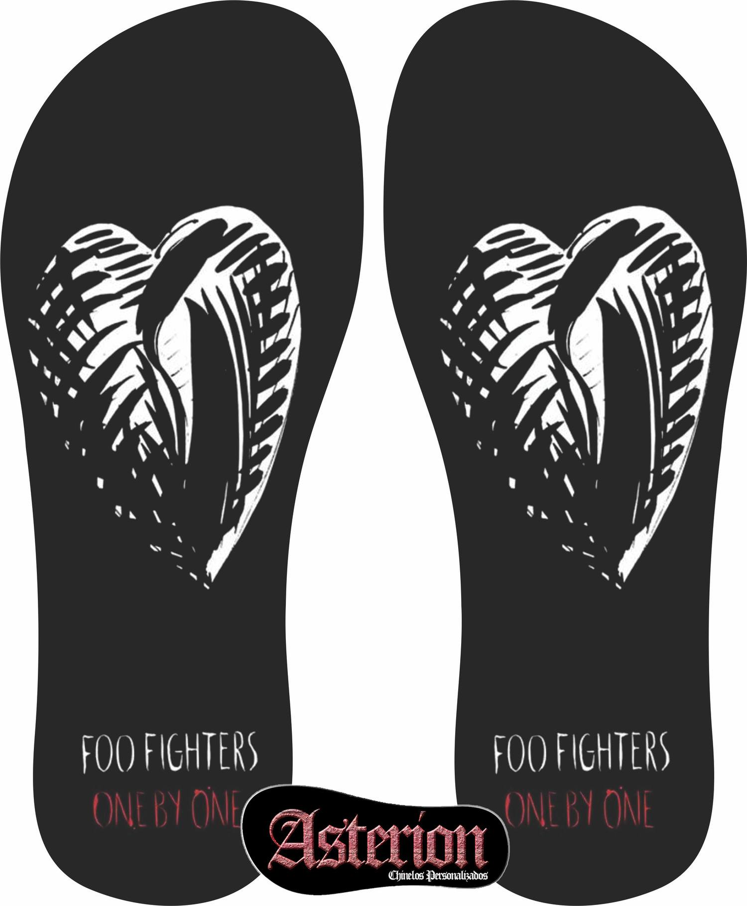 Chinelo Foo Fighters – Asterion Chinelos Personalizados