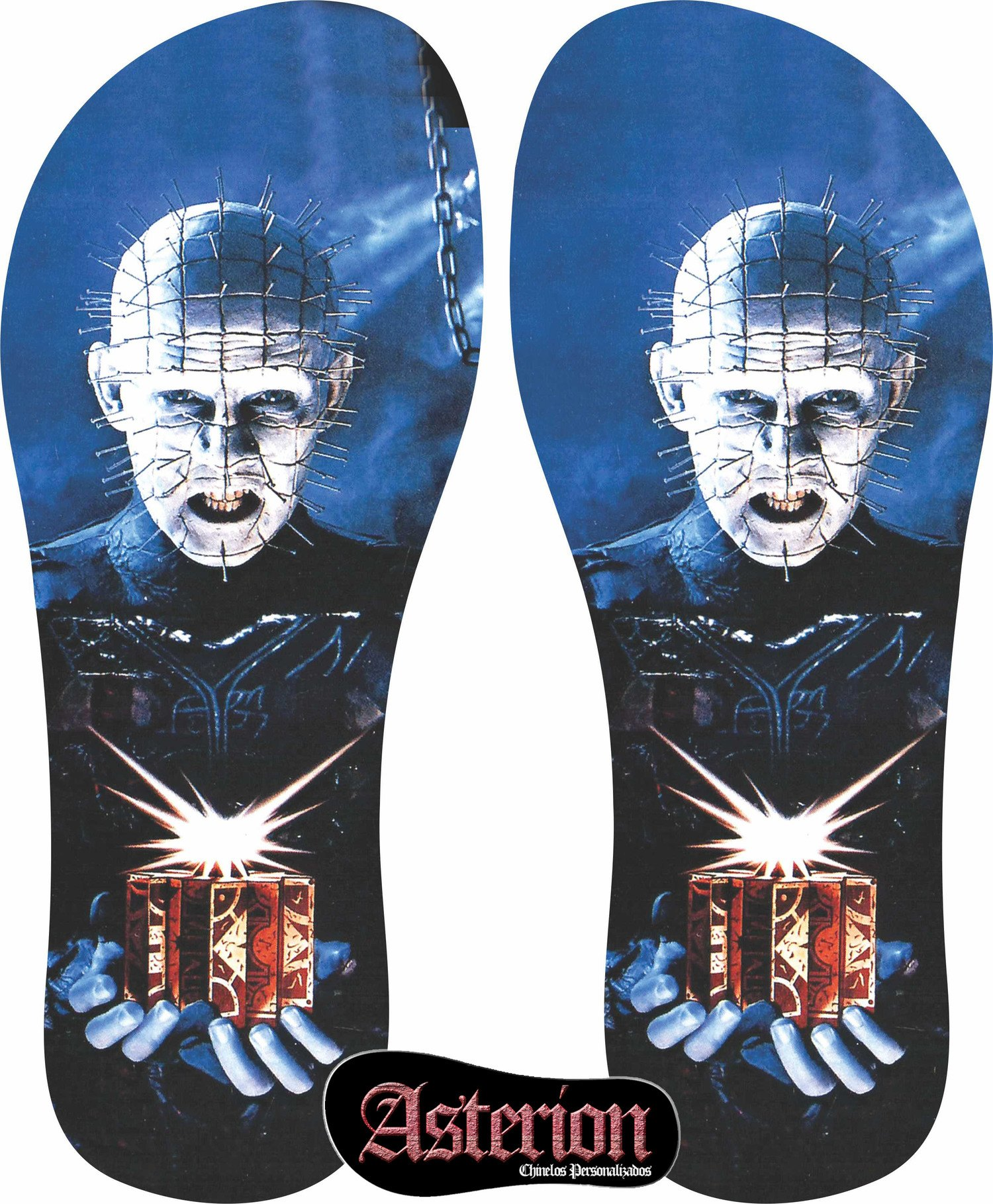 Chinelo Hellraiser  – Asterion Chinelos Personalizados