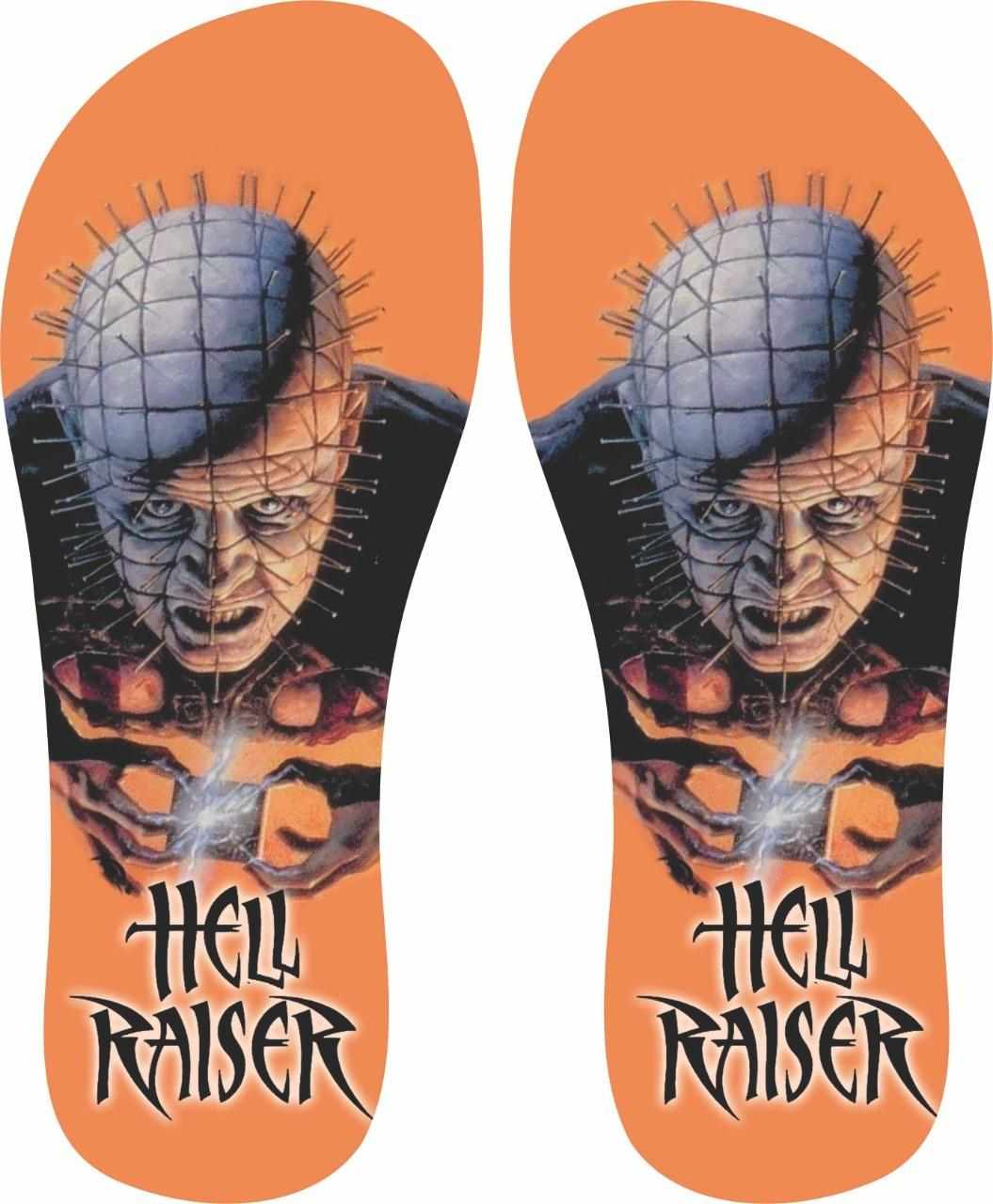Chinelo Hellraiser - Asterion Chinelos Personalizados