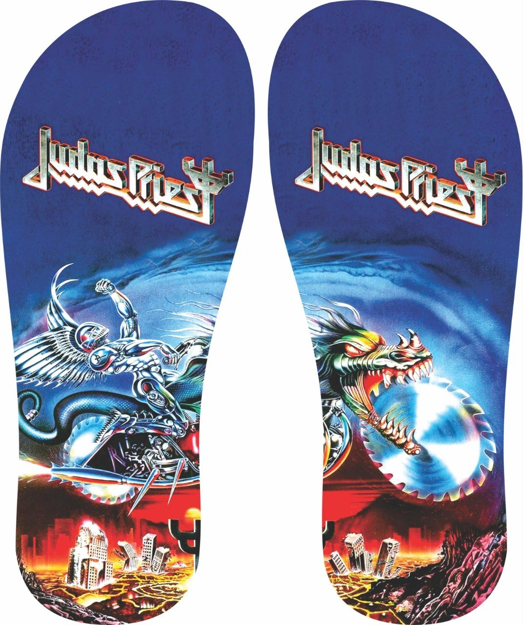 Chinelo Judas Priest - Asterion Chinelos Personalizados