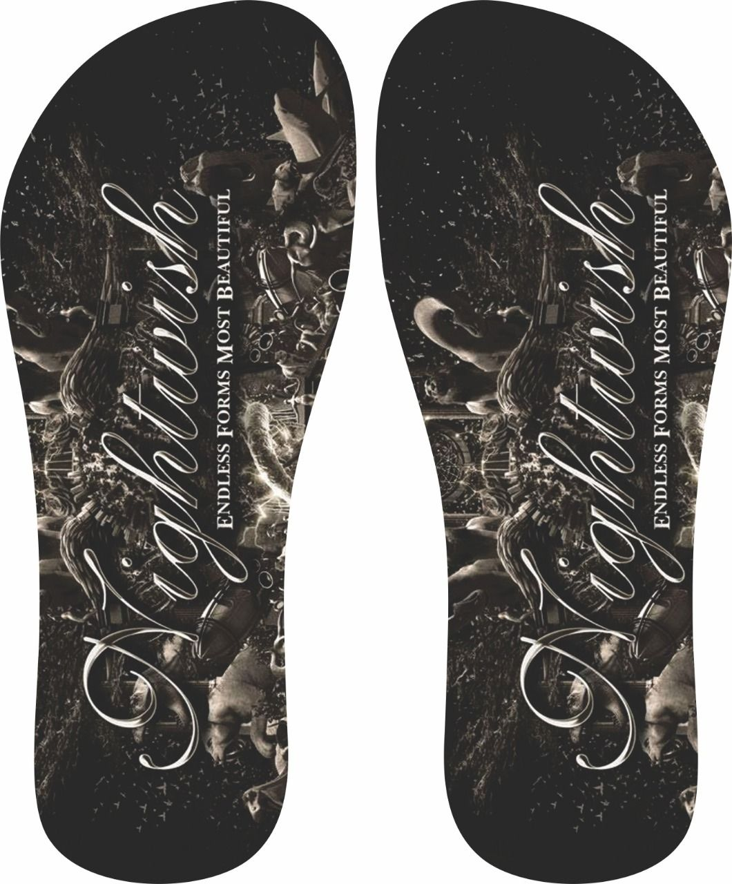 Chinelo Nightwish - Asterion Chinelos Personalizados