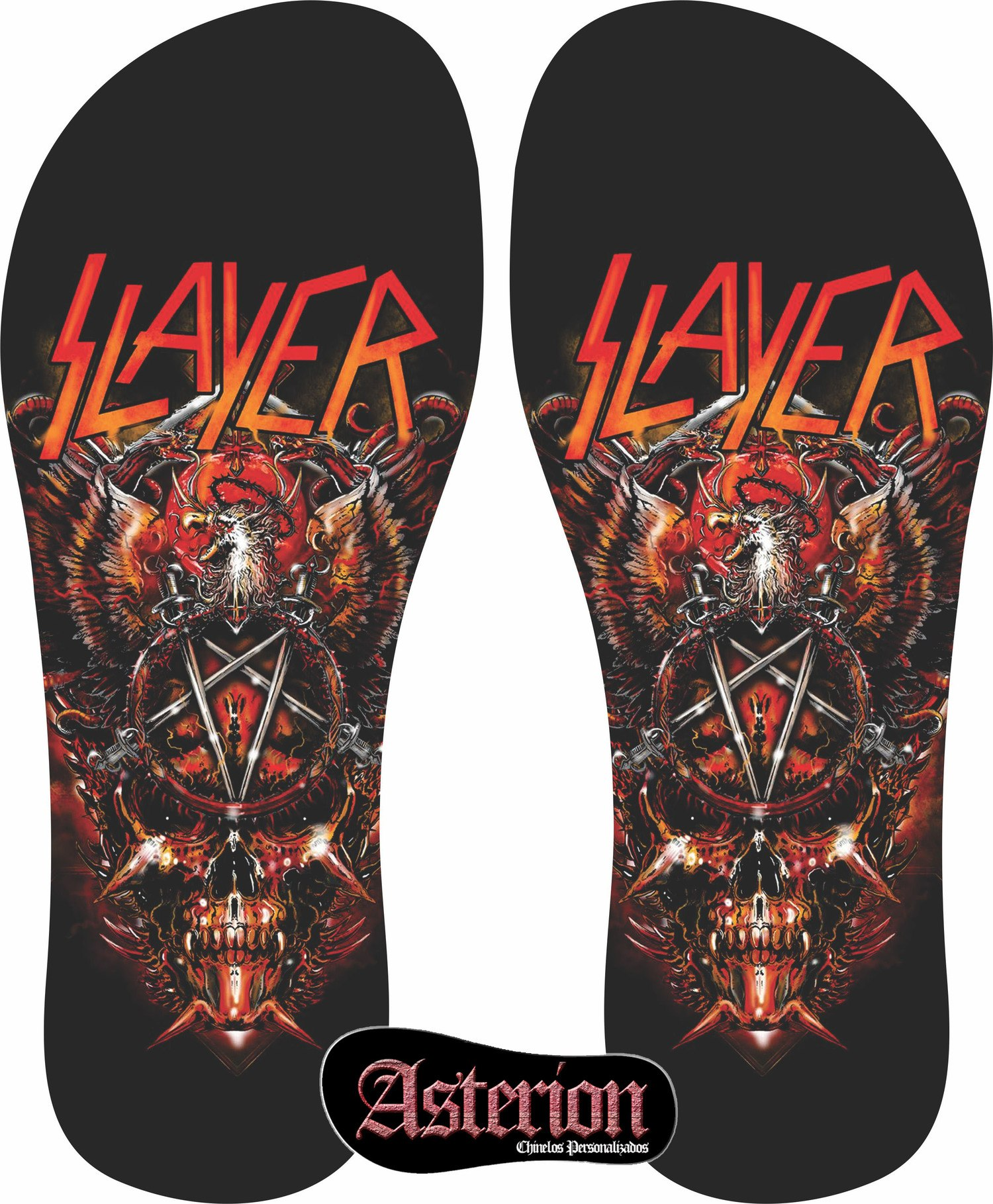 Chinelo Slayer – Asterion Chinelos Personalizados
