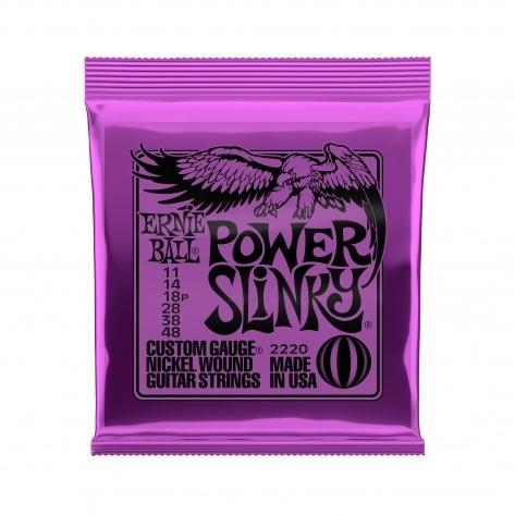 Corda Para Guitarra Ernie Ball Power Slinky (.011/.048)