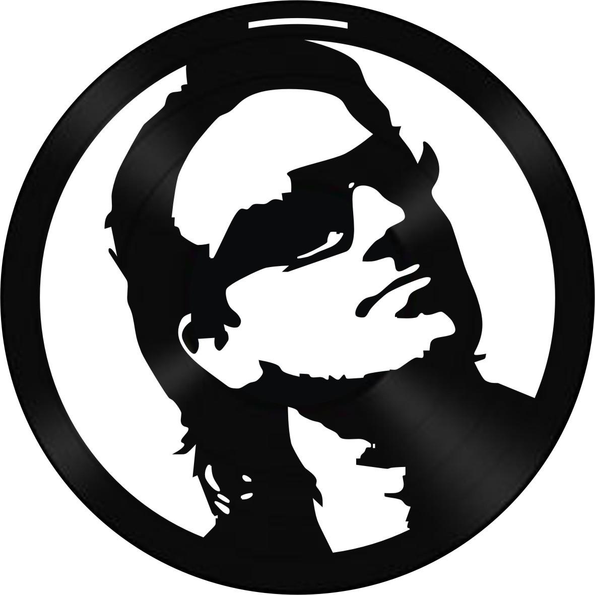 Disco de Vinil Decorativo Bono Vox