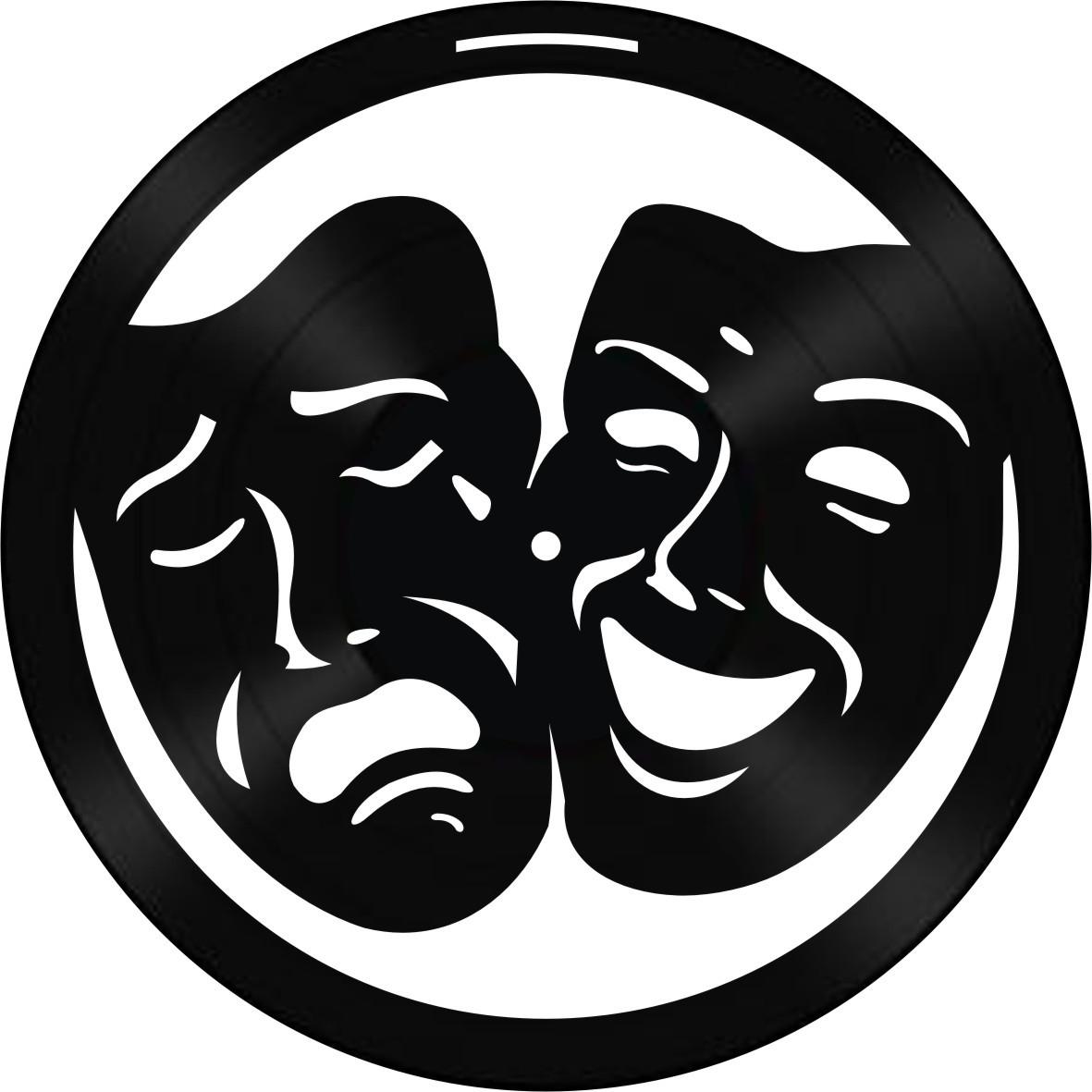 Disco de Vinil Decorativo Teatro