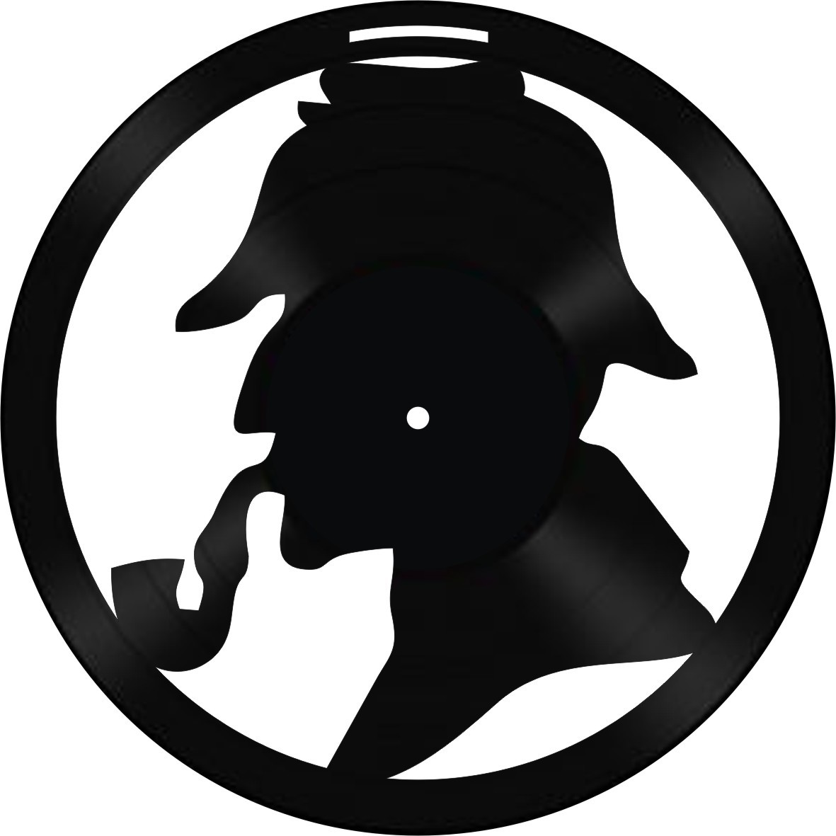 Disco de Vinil Decorativo Sherlock Holmes