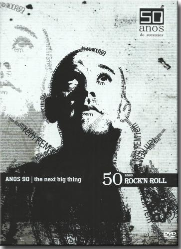 Dvd 50 Anos de Rock' n Roll - Anos 90 The Next Big Thing - Diversos Internacionais