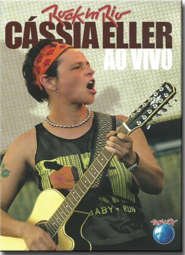 Dvd Cássia Eller - ao Vivo no Rock in Rio