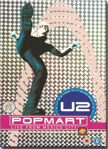 Dvd u2 - Popmart Live From Mexico - Imp