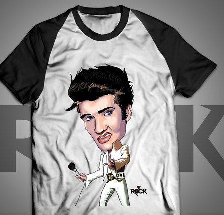 Elvis Presley - Camiseta Exclusiva