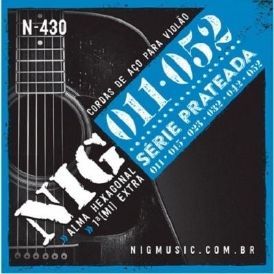 Encordoamento NIG N-430 0,11-0,52 Para Violão Aço