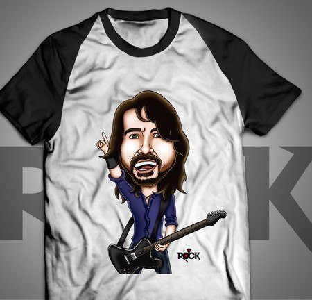 Foo Fighters - Camiseta Exclusiva