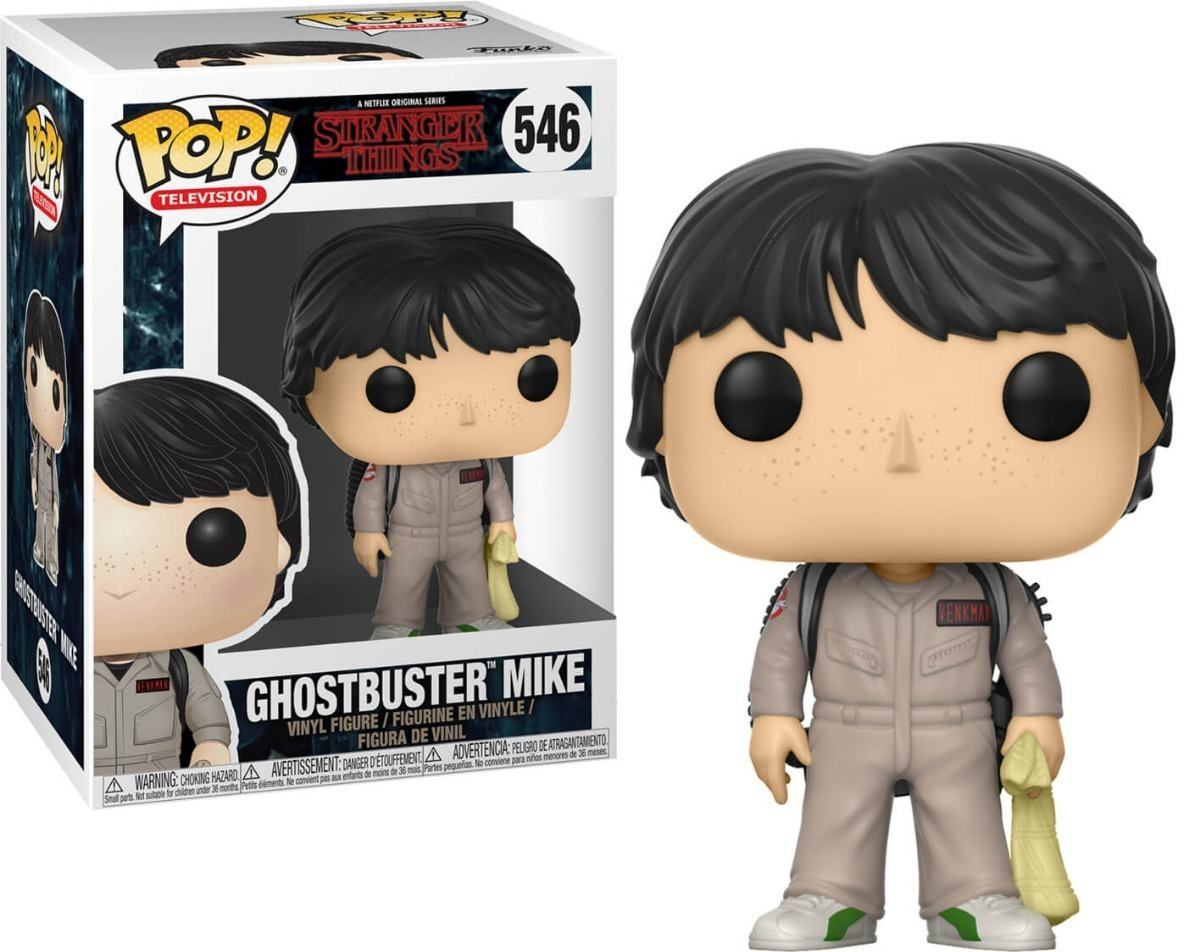 Ghostbuster Mike - Stranger Things - Funko Pop!