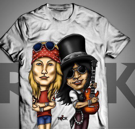Guns n Roses II - Camiseta Exclusiva