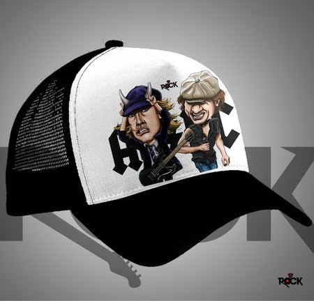 Boné Trucker AC/DC – Mitos do Rock