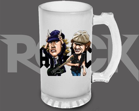 Canecão de Chopp AC/DC – Mitos do Rock