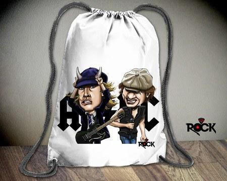Mochila Saco AC/DC – Mitos do Rock